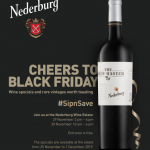 Nederburg Black Friday: Your Chance To #sipnsave photo
