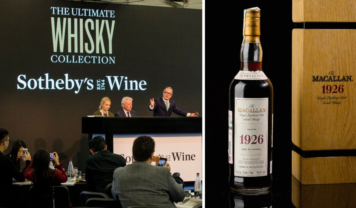 Macallan Whisky Sells For €1.7 Million At Sotheby's Auction photo