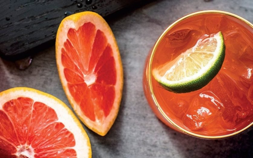 Sparking Gin, Aperol And Grapefruit (ratterwick Punch) Recipe  photo