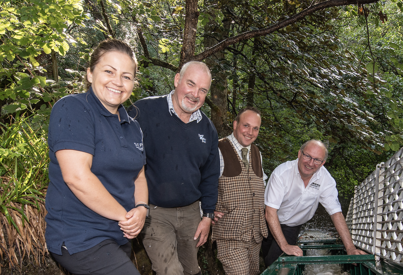 Efforts From Speyside Distillery To Open Up Burn To Fish Wins Award Nomination photo