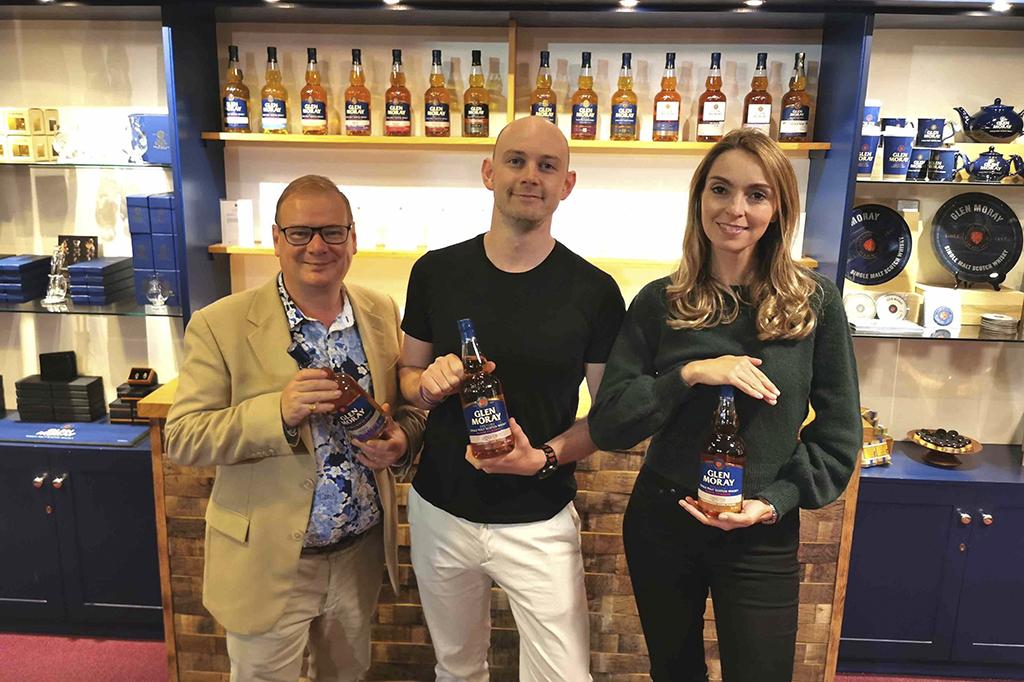Glen Moray Distillery Gets Ready To Star On Tv photo