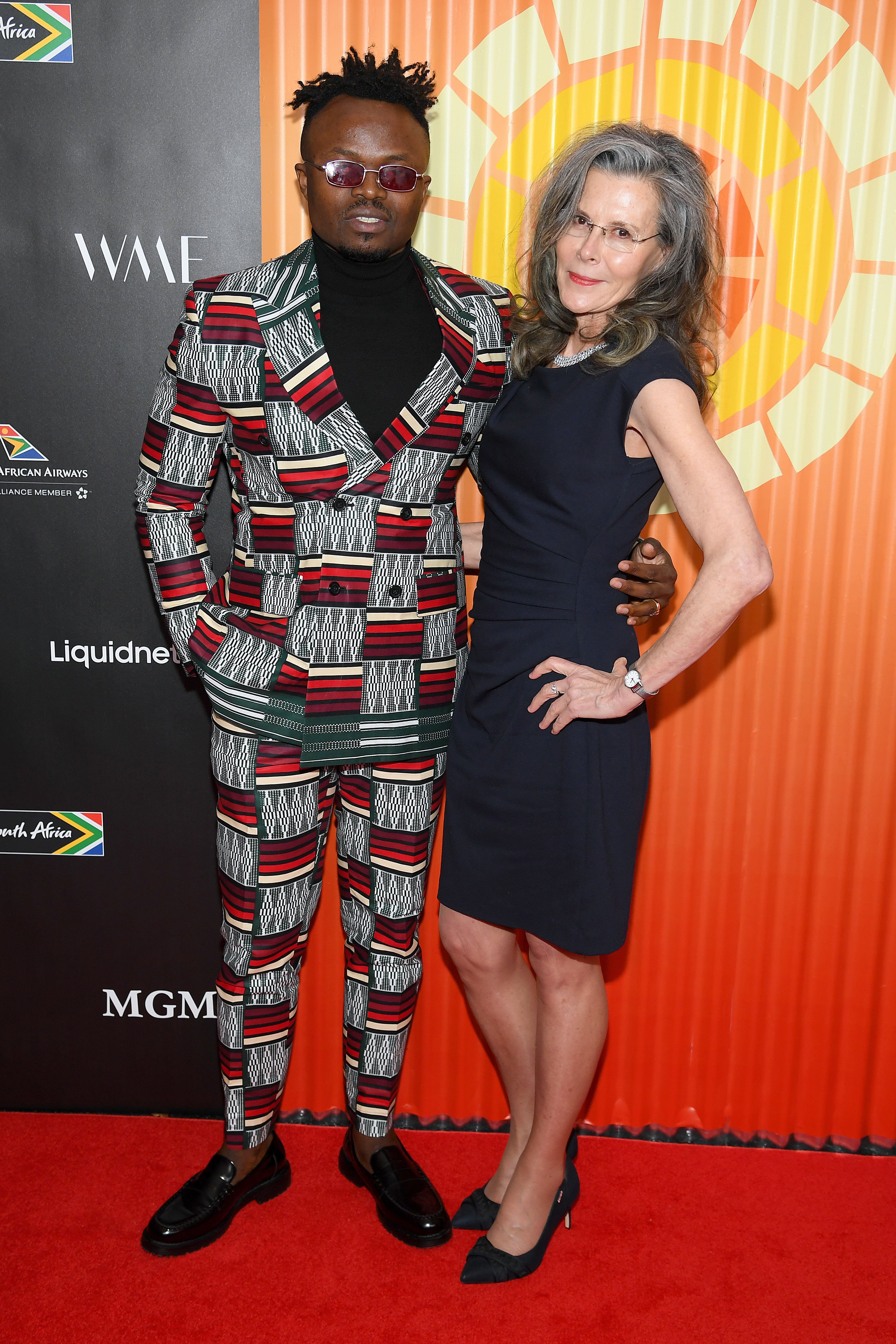 Tresor and Lorna Scott at the CTAOP Charity Auction held last week  Charlize Theron And Inverroche Gin Bring A list Celebrities A Taste Of The Southern Tip Of Africa