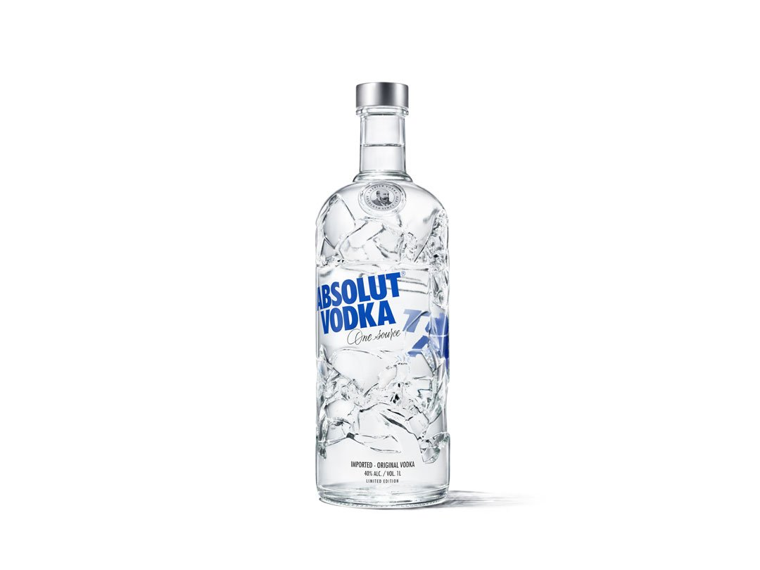 "Absolut Vodka Works With Ardagh Group To Release Recycled Version Of ""iconic"" Bottle photo"