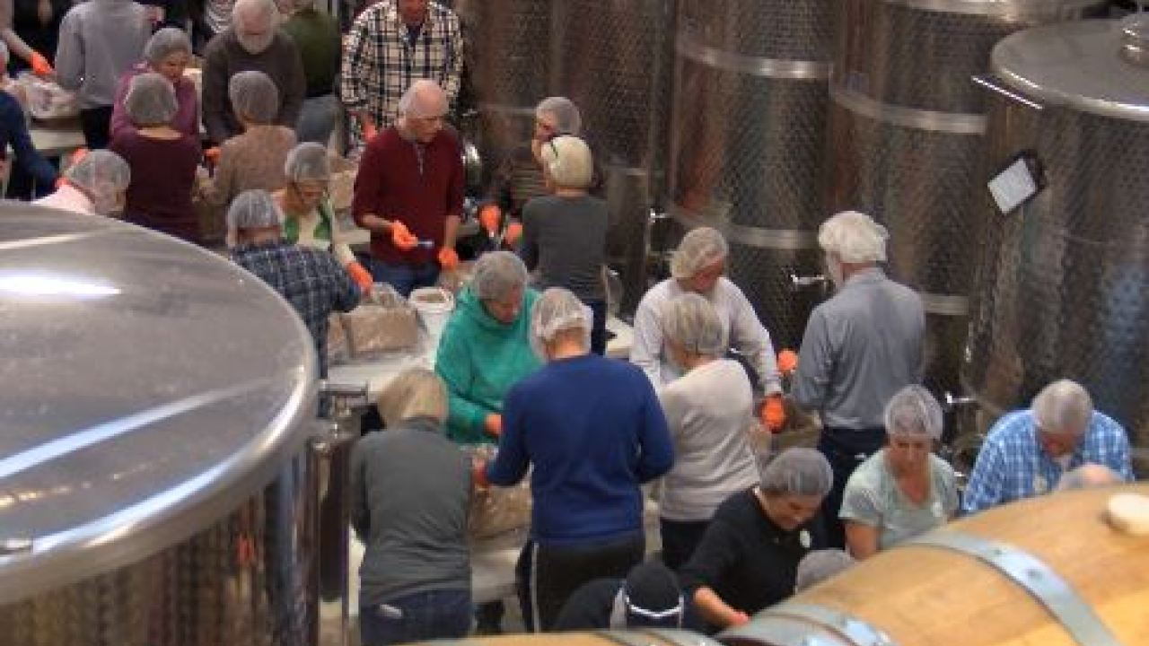 Big Cork Vineyard In Washington County Helps Feed Children In Need photo