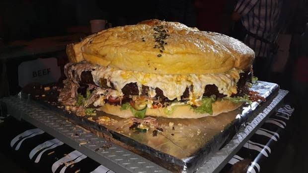 Cape Town Restaurant Set To Break The Record For Biggest Burger In The World photo