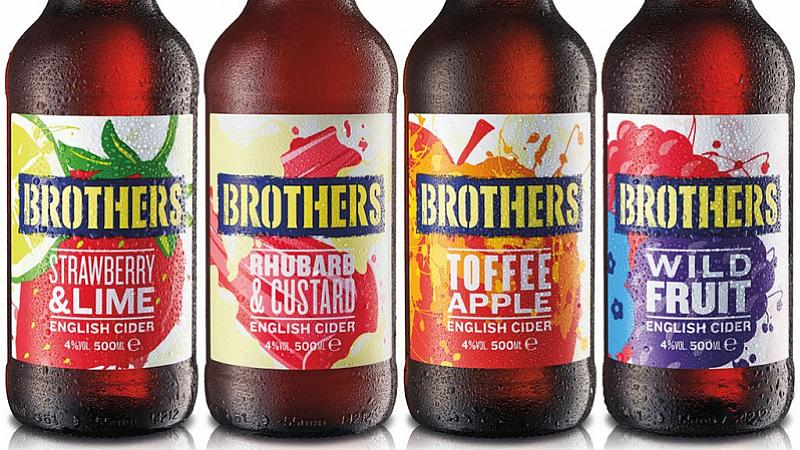 Krow Wins Brothers Cider Account photo