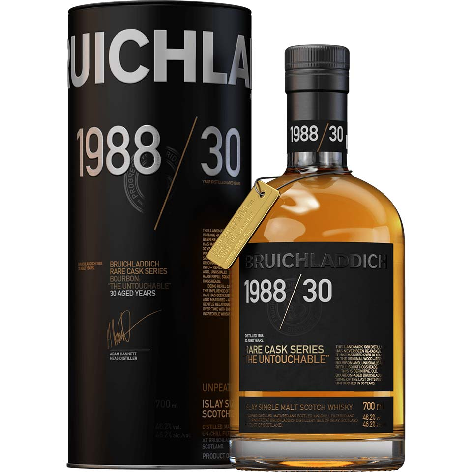 """Bruichladdich Releases 1988 / 30 Years Rare Cask Series """"the Untouchable"""" photo"""