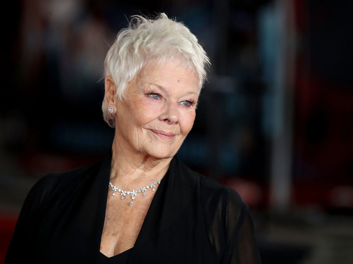 Dame Judi Dench Drank Her Tribute Beer 'dame Judi Quench' (and Liked It) photo
