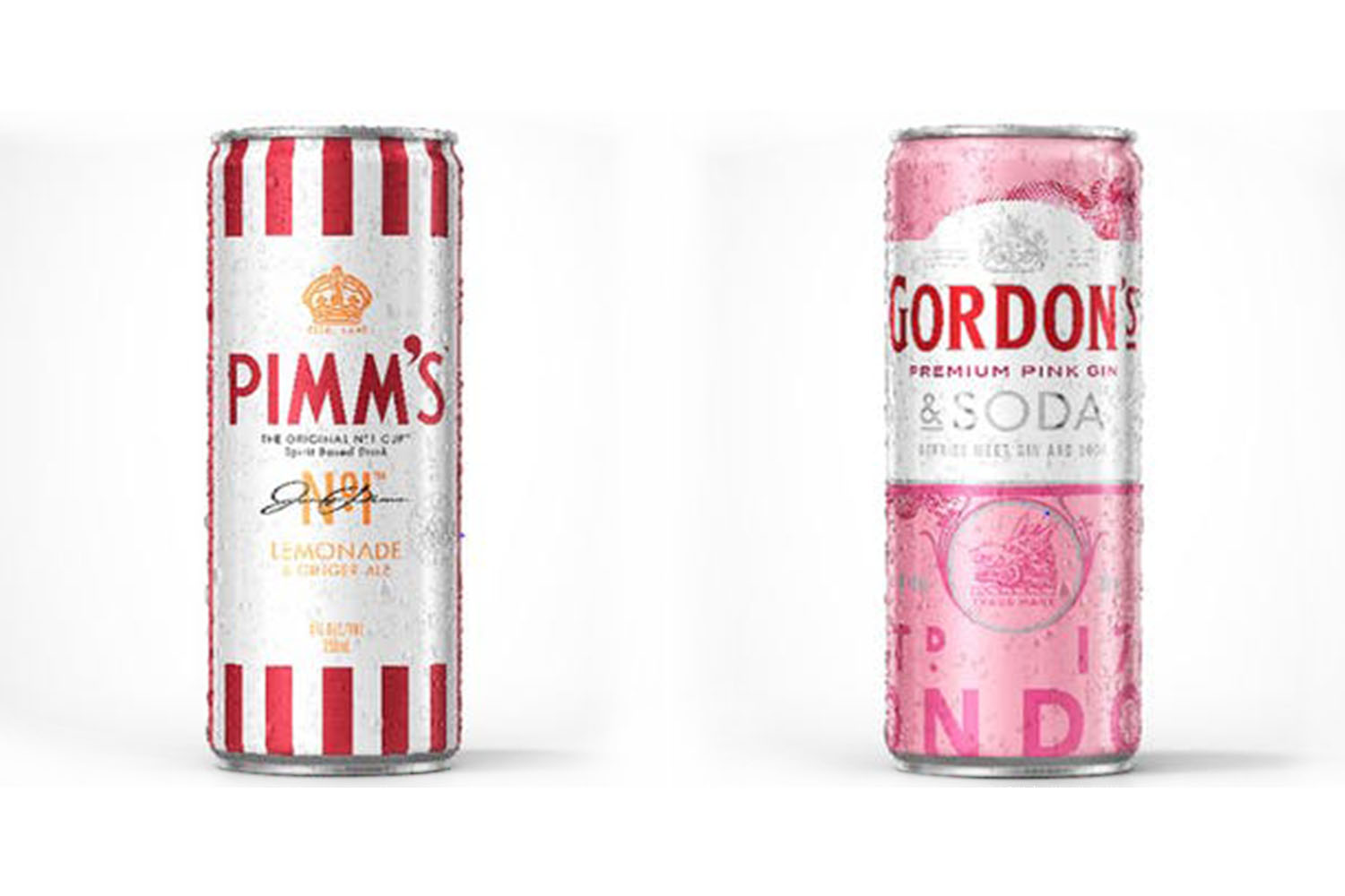 You Can Now Buy Pimm?s And Gordon?s Pink Gin In Handy Cans photo