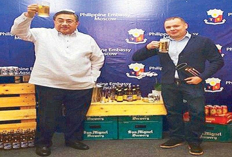 Philippine Spirits, Wine And Beer Launched In Russia photo