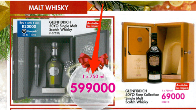 Black Friday: A Cheap-ish R600,000 Bottle Of Whisky, And Our Other Favourite Deals On Beer, Champagne, And Brandy photo