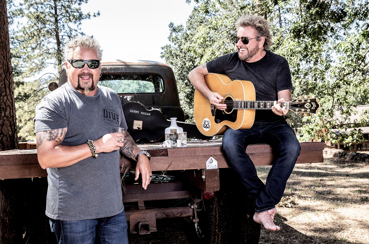 Guy Fieri & Sammy Hagar On Why They're 'attached At The Heart' photo