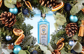 Bombay Sapphire Has Teamed Up With Floom To Create The Bombay Sapphire Garnish Wreath photo