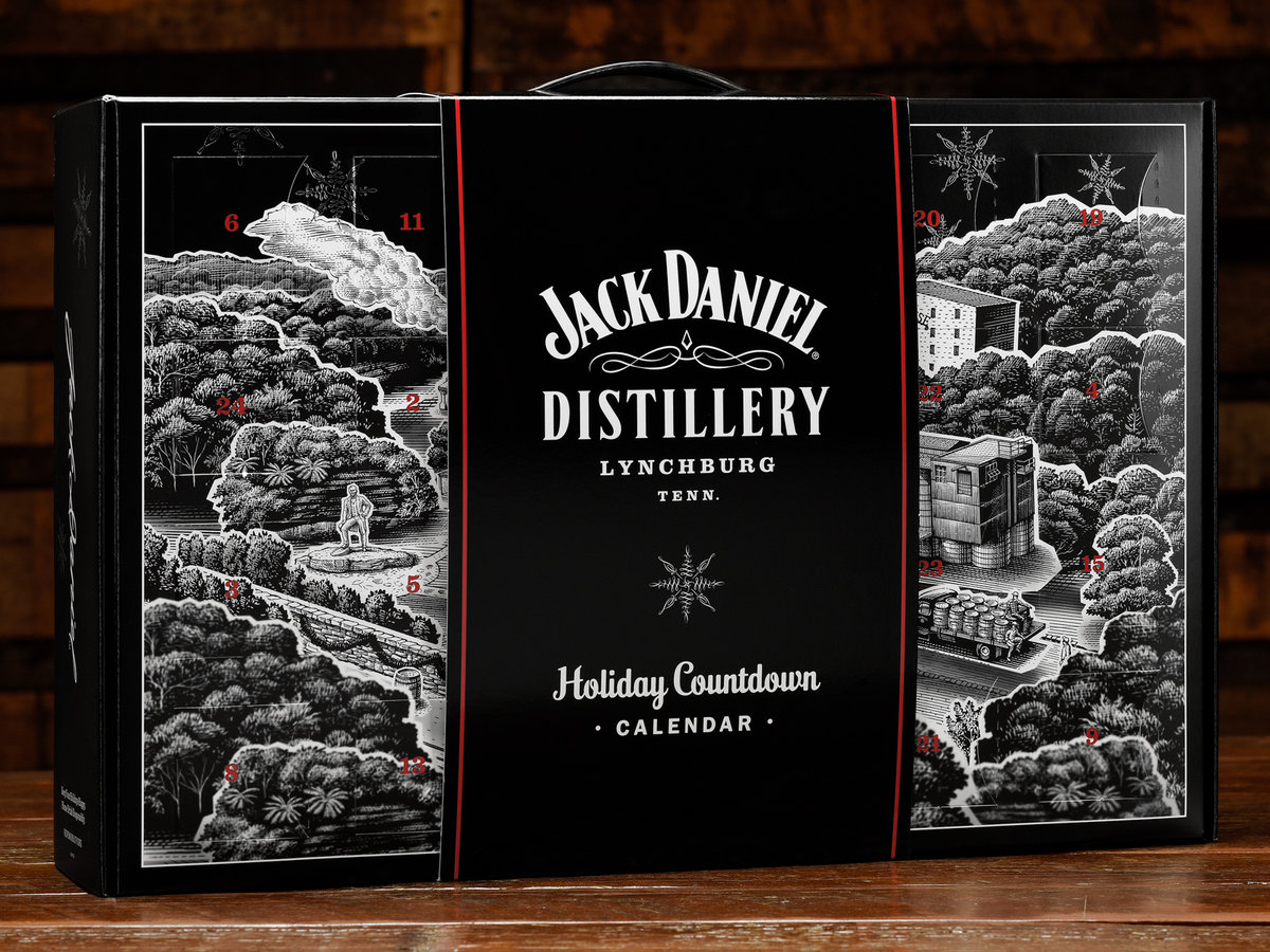 Jack Daniel's Whiskey Advent Calendar Finally Arrives In The U.s. This Christmas photo