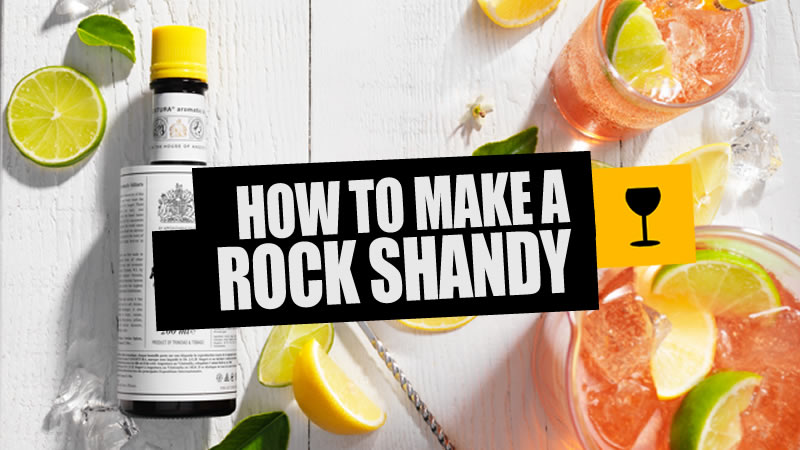 How To Mix A Rock Shandy photo
