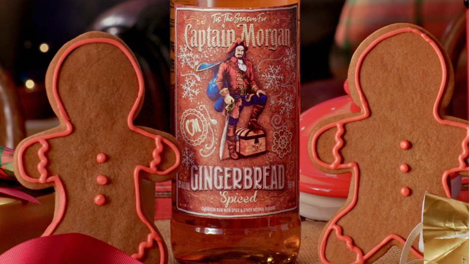 Captain Morgan Is Releasing A Limited-edition Gingerbread Spiced Rum photo