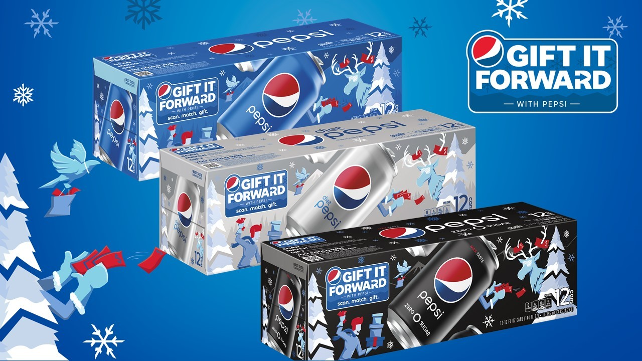 Pepsi Offers Unique Scratch-cards Where The Money Won Must Be Gifted photo