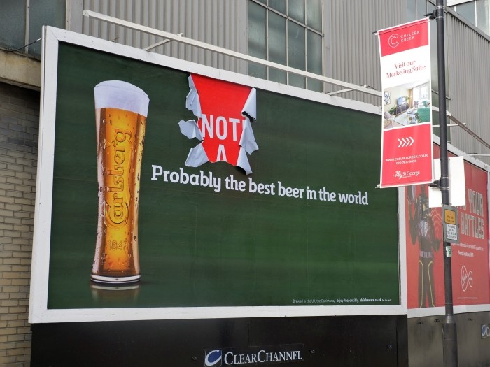 How Carlsberg Brewed Up (probably) One Of The Best Out Of Home Campaigns Of The Year photo