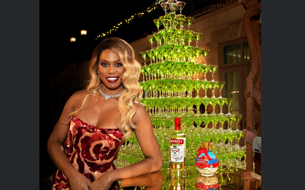 Marketing Daily: Smirnoff, Laverne Cox Team Up Again For Holiday Campaign photo