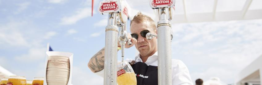 Stella Artois Is The New Official Beer At The Australian Open photo