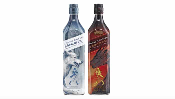 Whisky Review Round Up: Johnnie Walker Song Of Ice/song Of Fire photo