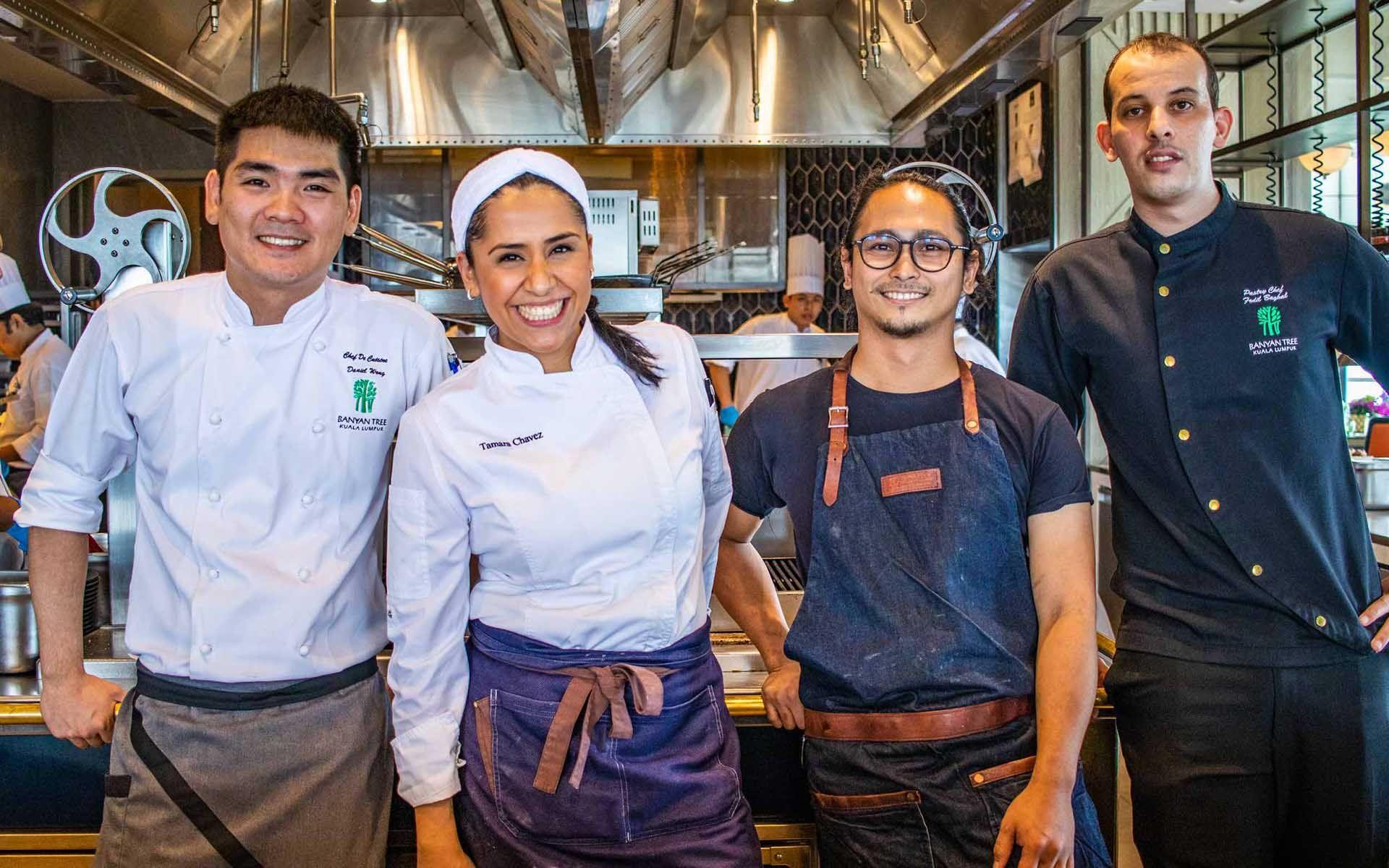 San Pellegrino?s First Guest Chef Series At Horizon Grill, Banyan Tree Kuala Lumpur photo