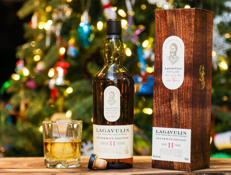 Toast The Season With Lagavulin Offerman Edition 11 Year Old Single Malt Scotch Whisky photo
