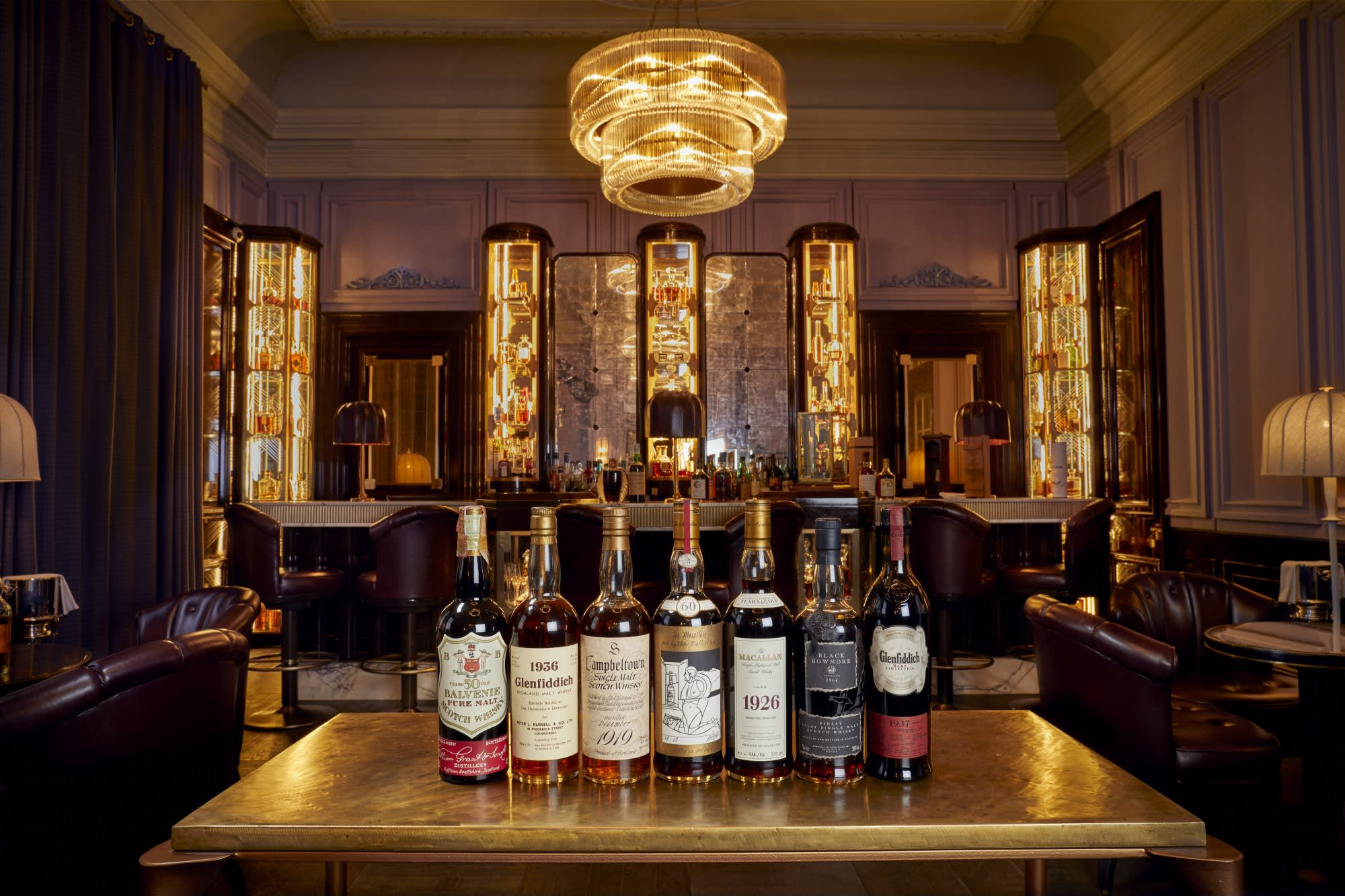 Here's What $10 Million Worth Of Rare Whisky Looks Like photo