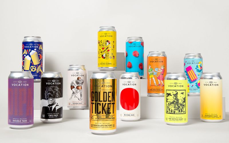 Robot Food Teams Up With Vocation Brewery For A Whole Year Of 'special Editions' photo