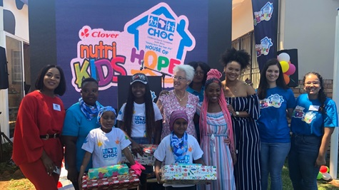 Clover Nutrikids And Choc`s Partnership Raises Funds For Sixth Choc House photo