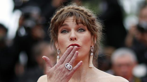 Heavily Pregnant Milla Jovovich's 'mama Boobs Are Back' photo