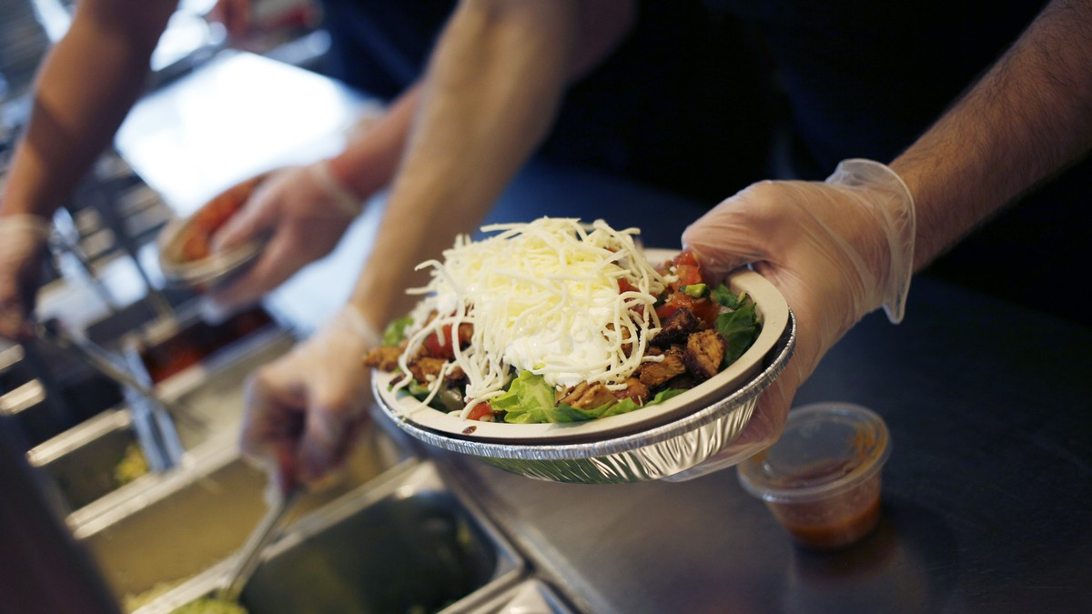 Chipotle Requires A 'wellness Check' To Prove Sick Workers Aren't Just Hungover photo