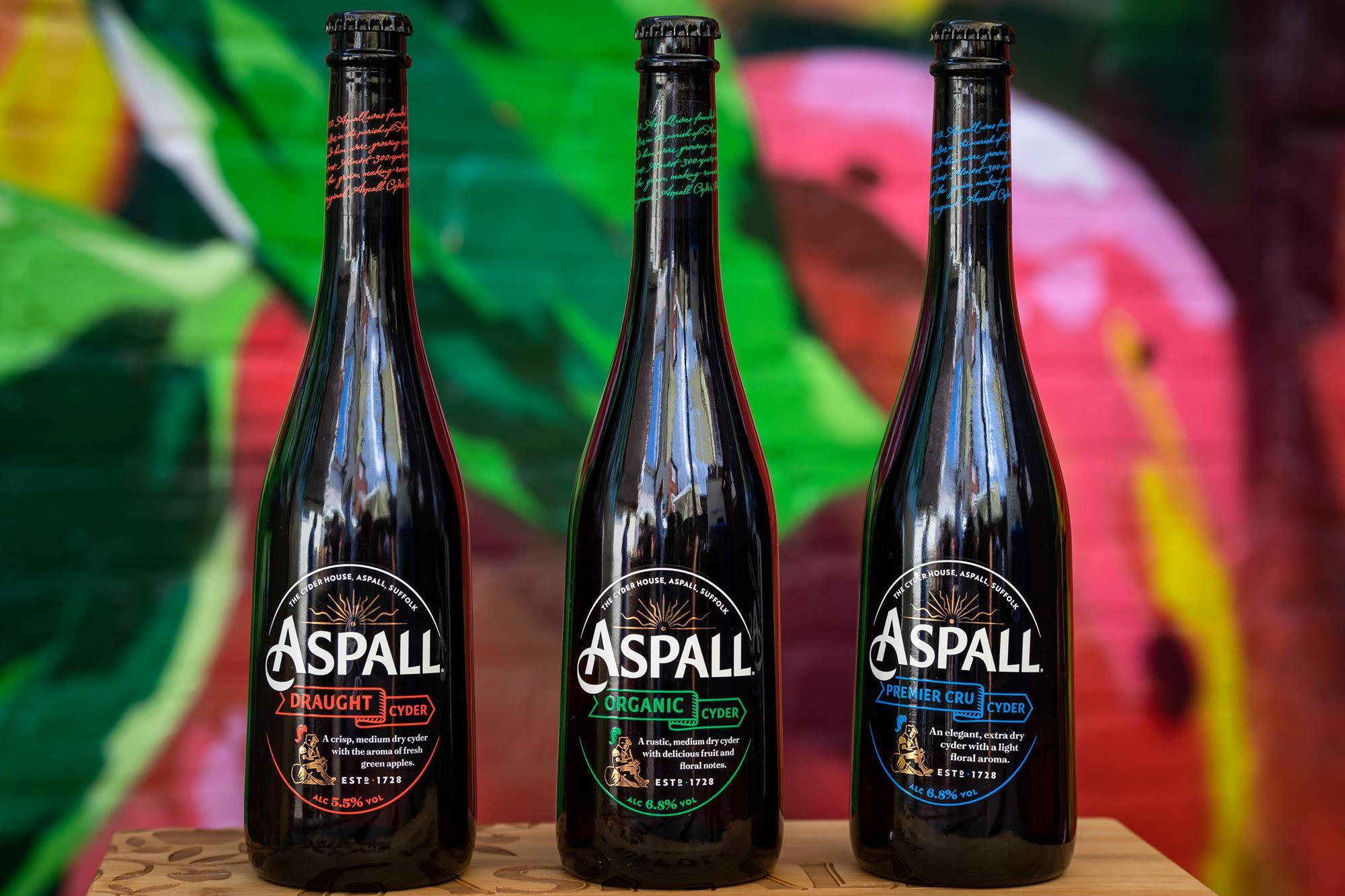 Aspall Cyder Brand Makeover Highlights Upmarket Credentials photo