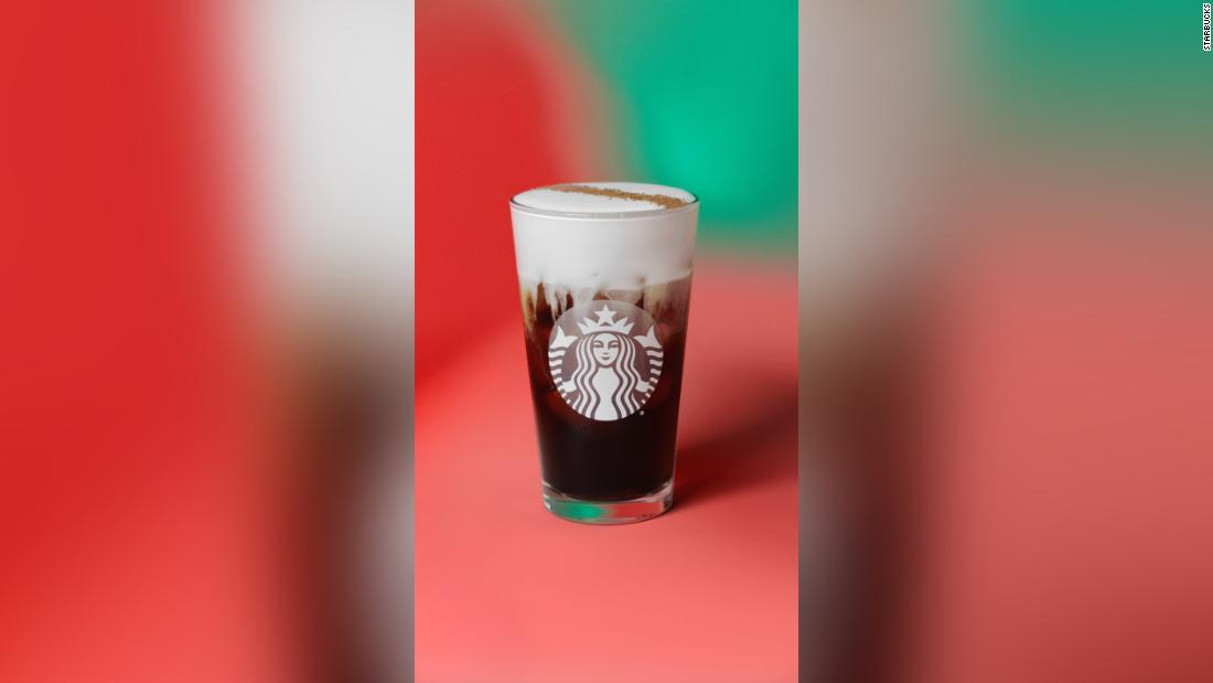 Starbucks Is Adding A New Holiday-themed Iced Drink To Its Menu photo
