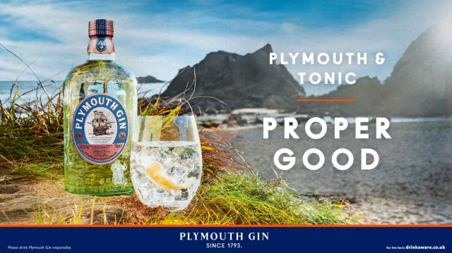 "Plymouth Gin Gets ""proper Good"" Campaign photo"