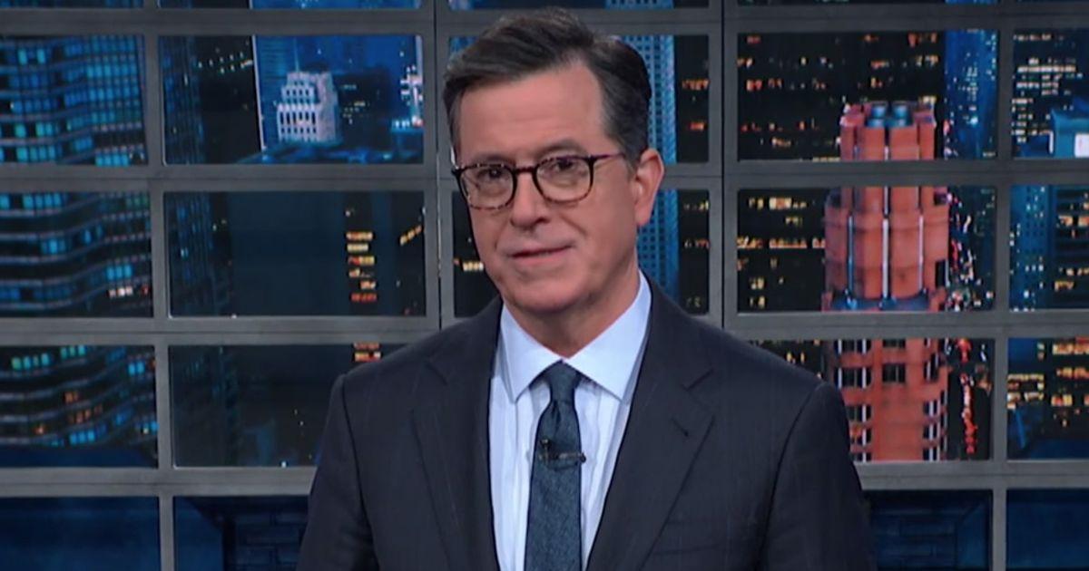 Stephen Colbert Skewers Trump With A Devastating Burn During Impeachment Update photo