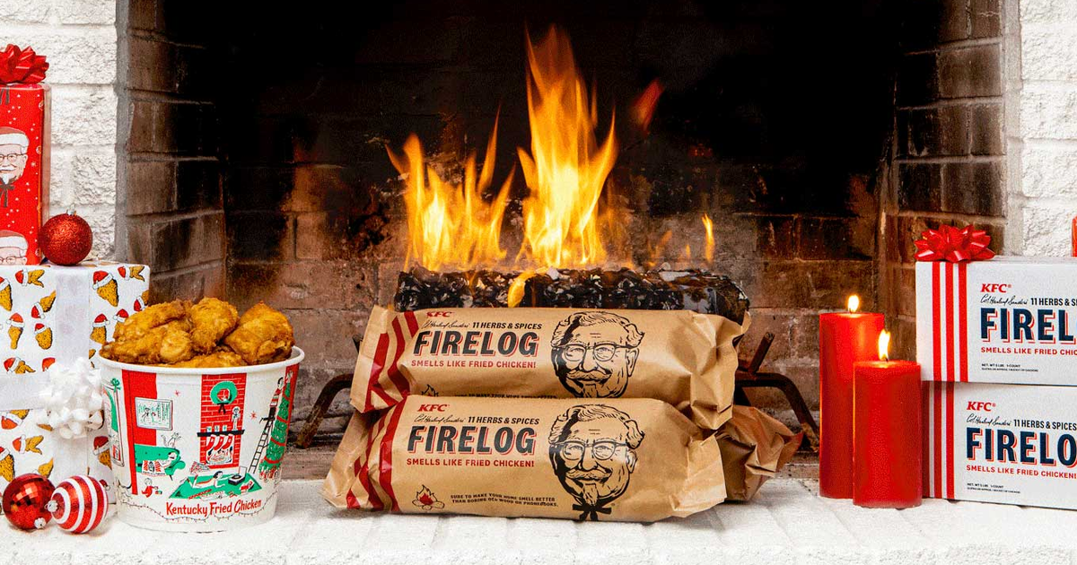 The Kfc Yule Log Is Back, But You Absolutely Should Not Buy It photo