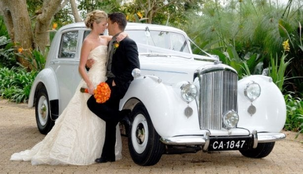Get Chauffeured To Your Special Occasion In A Vintage Car photo