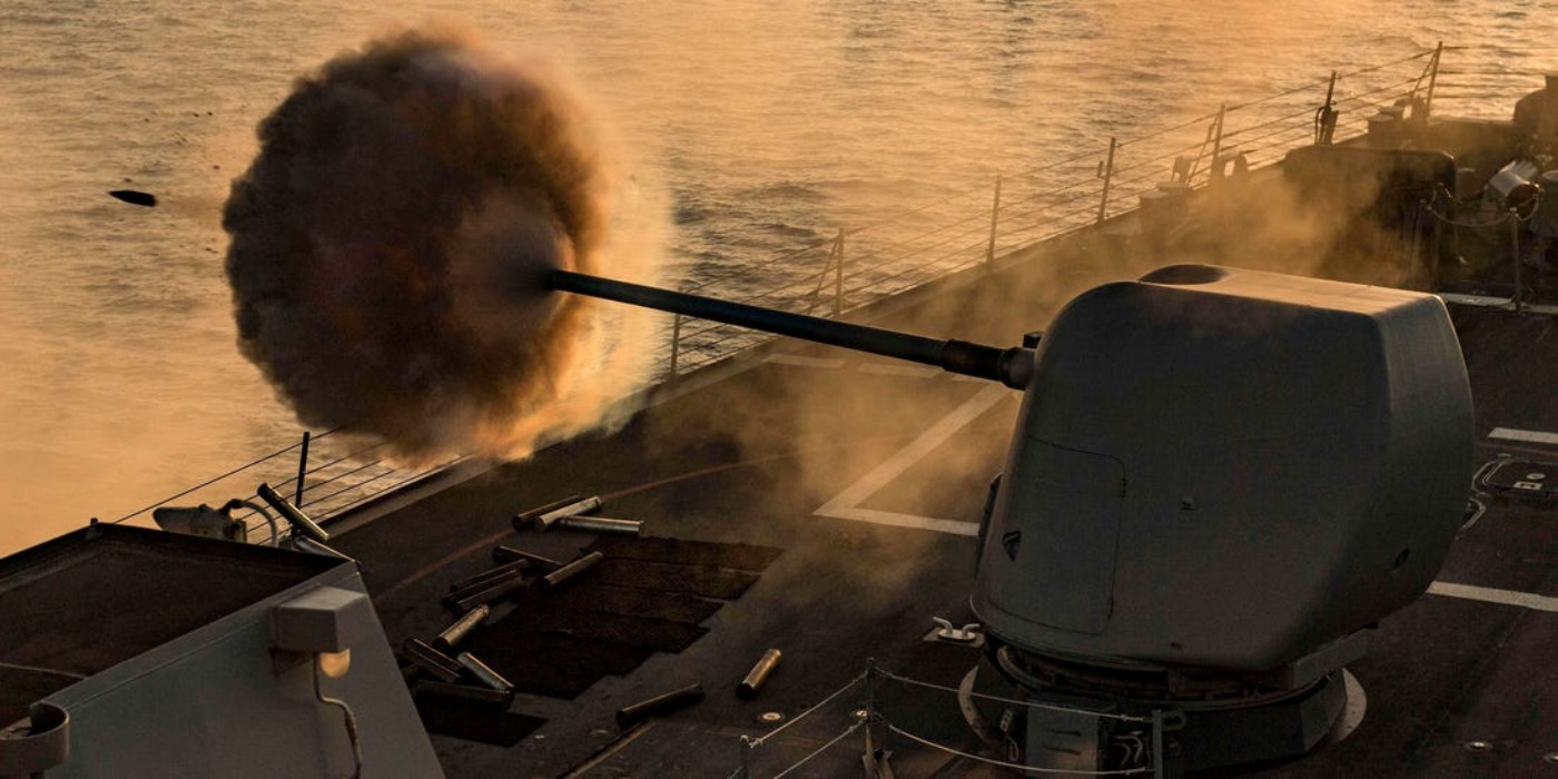 The Navy Is Getting Railguns, And Not Even Mountains Will Stand In photo