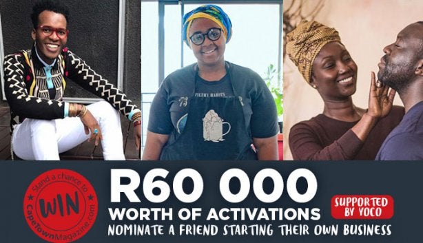 Nominate A Friend's New Business For R60k's Worth Of Activation photo
