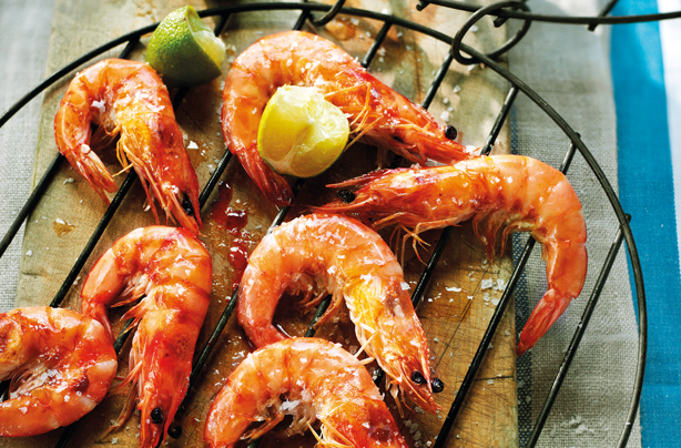 Grilled Prawns and Thai Dipping Sauce Paired with Kunjani Rosé photo