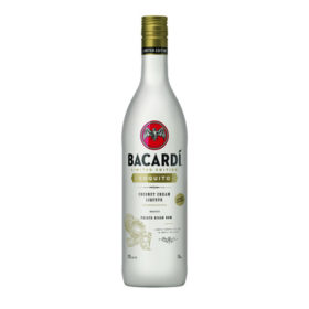 Bacardi Bottles Coconut Cream Liqueur Coquito photo