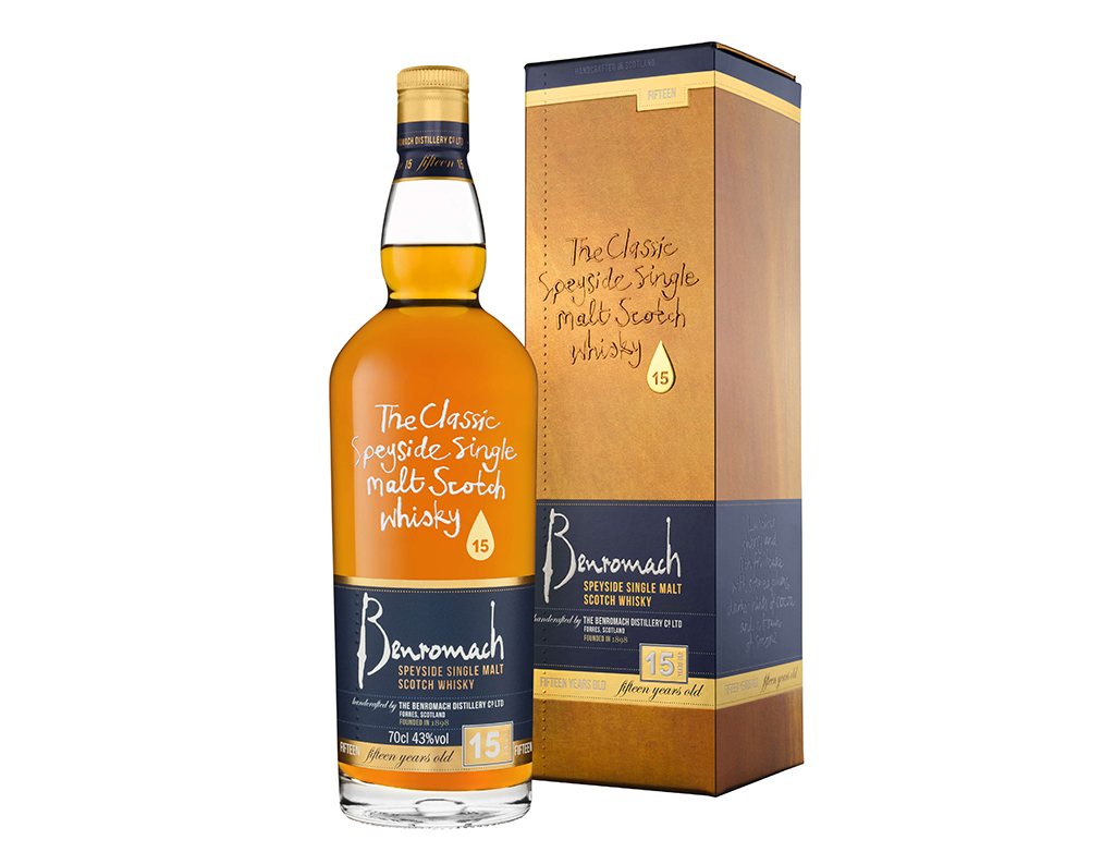 The Benromach 15 Wins Blind Tasting Award photo