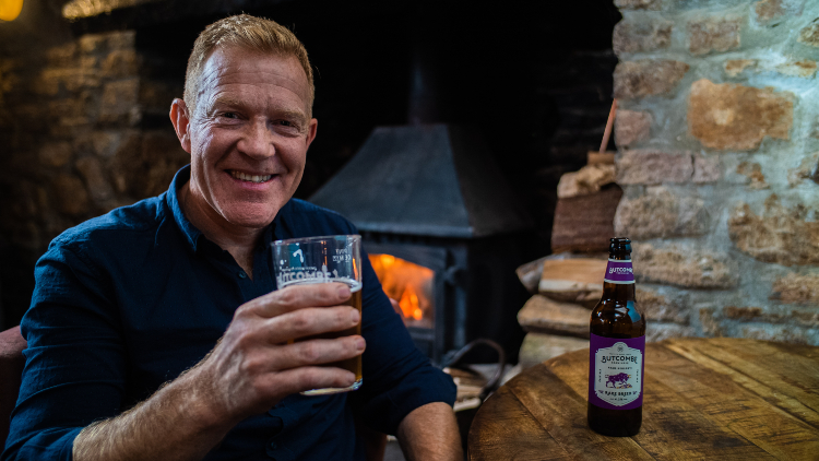Countryfile Presenter And Butcombe Toast 3m Bottles Of Collaboration Brew photo