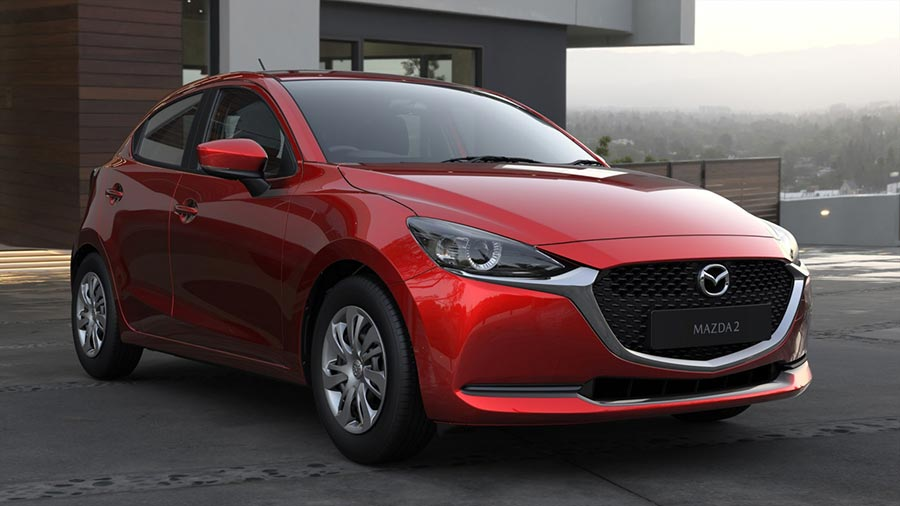 Facelift Mazda2 Arrives In South Africa photo