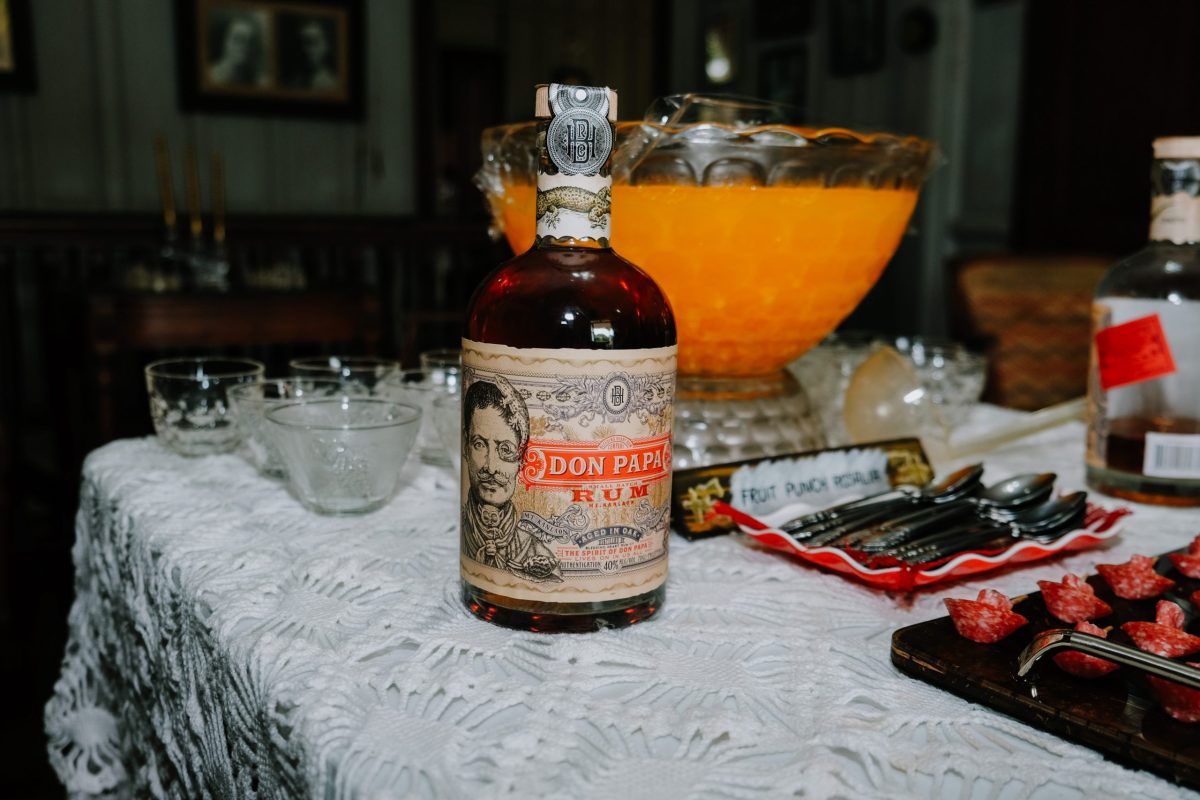 Sipping Don Papa Rum At Its Home In The Philippines photo