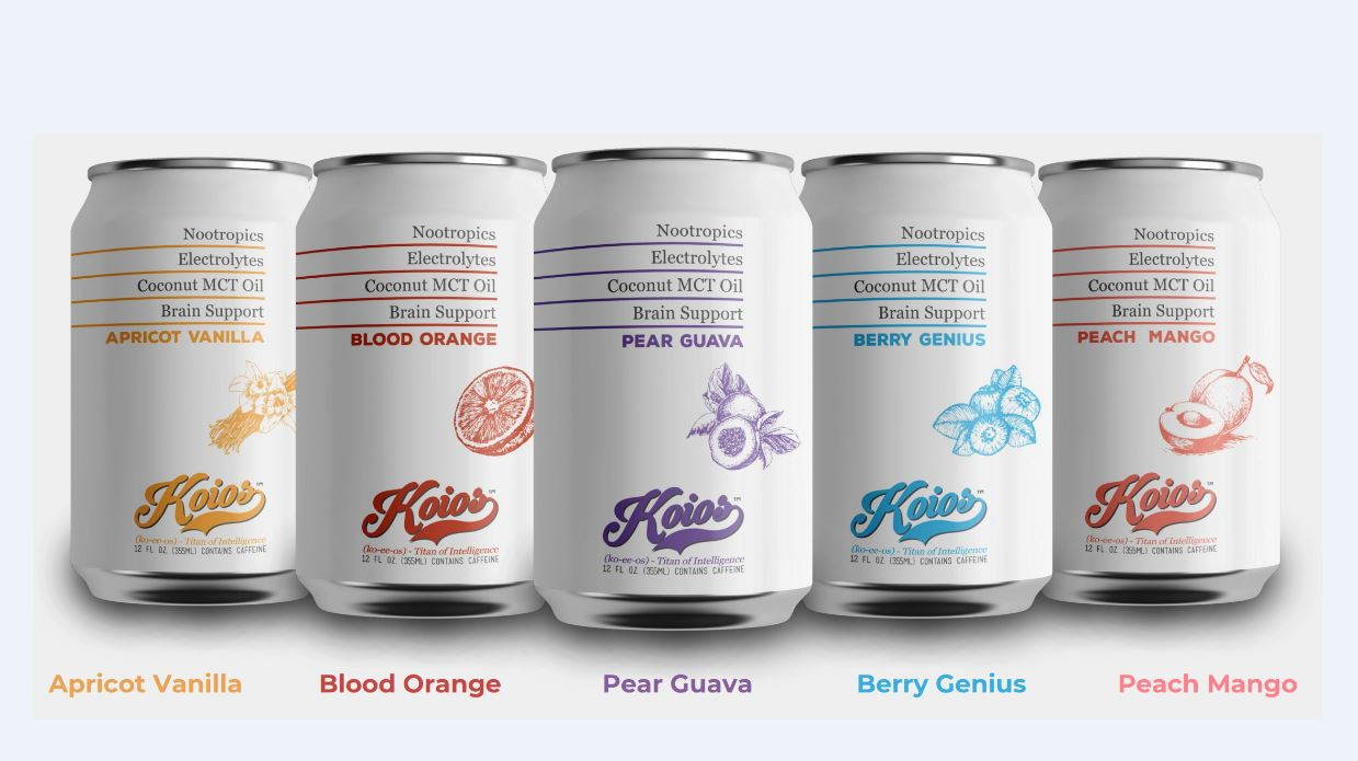 Koios Canned Nootropic Drink To Be Sold In Over 10,000 Retail Locations By 2020 photo