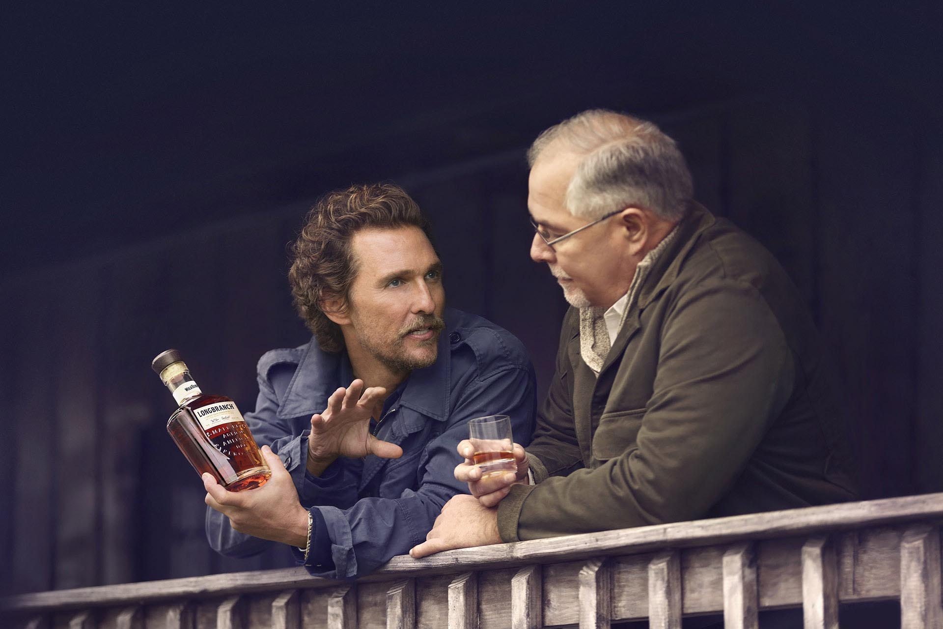 Matthew Mcconaughey Knows Exactly How He Likes His Bourbon photo