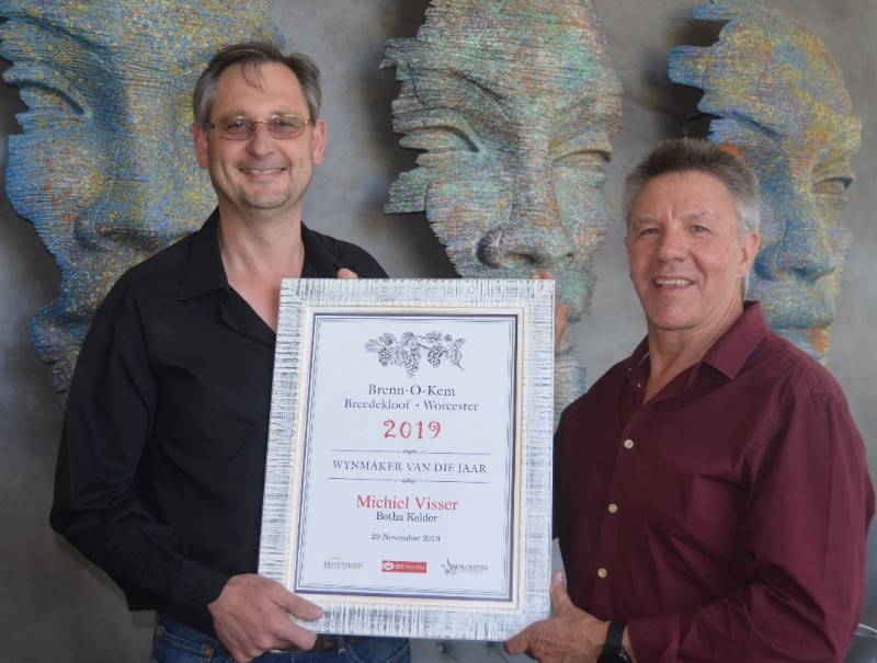 Brenn-O-Kem Worcester/Breedekloof Winemaker of the Year 2019 announced photo