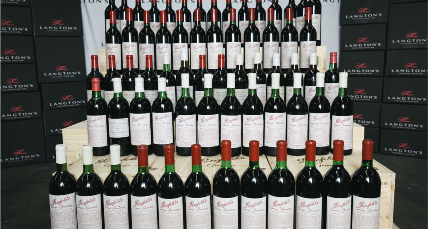 Penfolds Grange Beats Own Record At Online Wine Auction photo